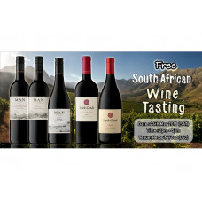 MAN & Stark Conde South Africa Wine Tasting (FREE)