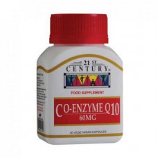 21ST CENTURY CO-ENZYME Q10 60MG 30S