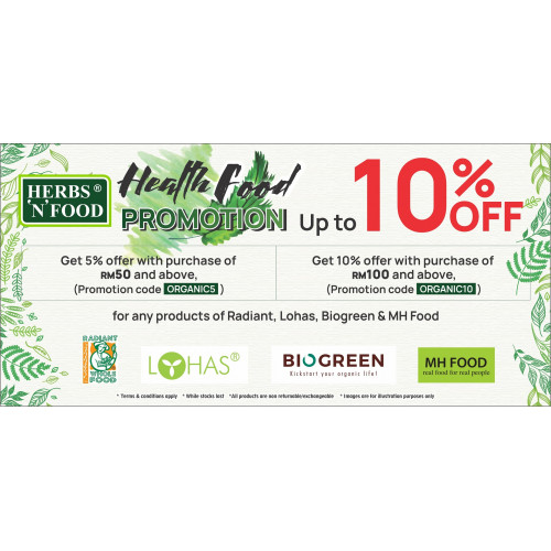 Herbs N Food Organic Food Promotion
