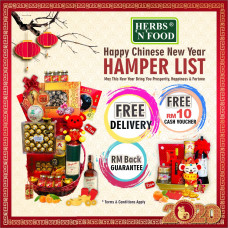 Herbs 'N' Food Chinese New Year 2020 Hampers
