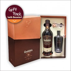 GLENFIDDICH 18YO GP WITH DECANTER 700ML