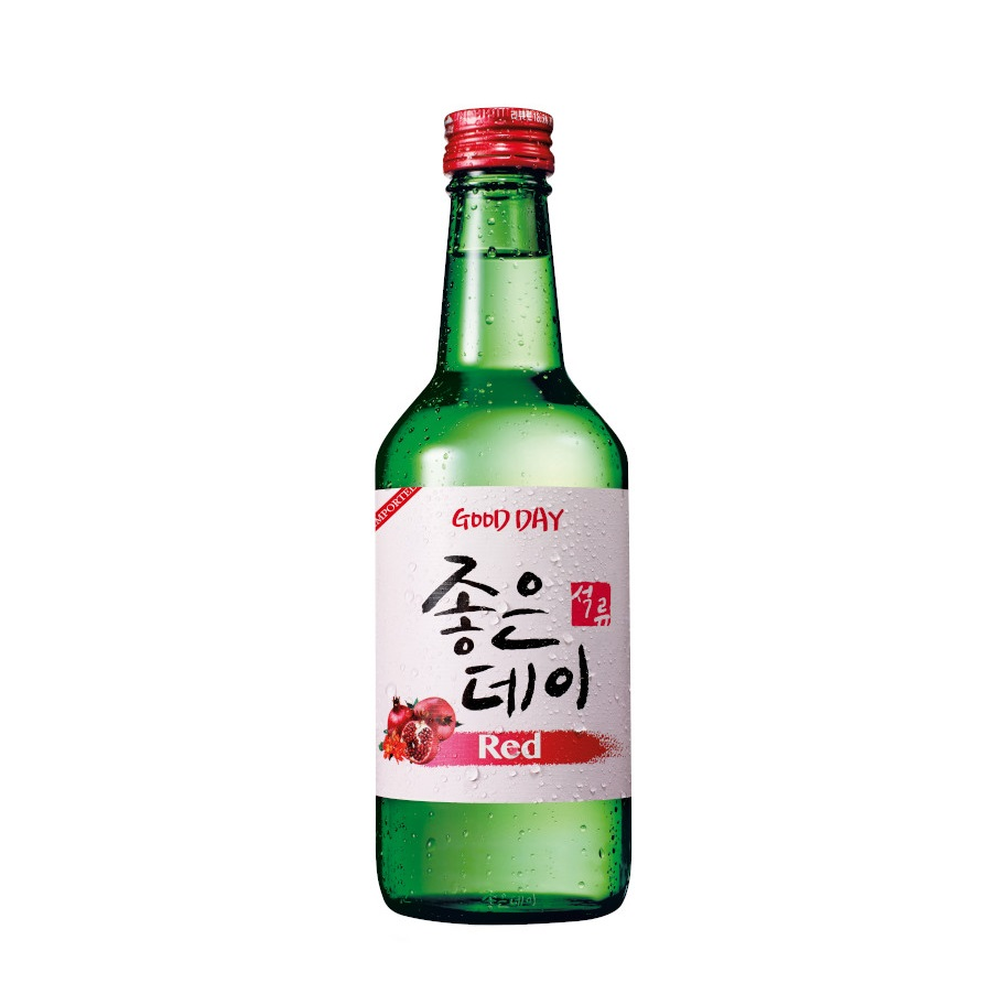 GOODDAY SOJU RED 360ML