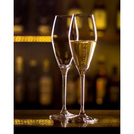 FAWLES CRYSTAL CHAMPAGNE FLUTE 9OZ 1'S