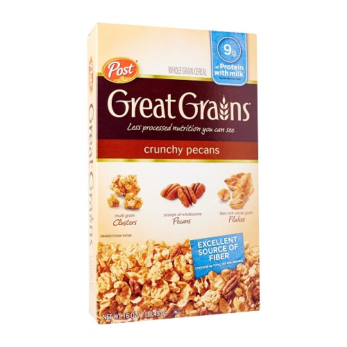 POST GREAT GRAINS CRUNCHY PECANS 453G