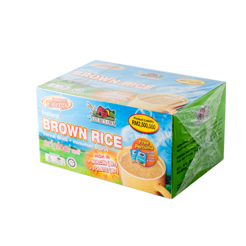 NATURES OWN BROWN RICE INSTANT 30G 16S
