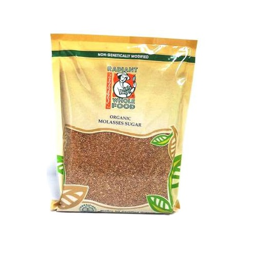 RADIANT ORGANIC MOLASSES SUGAR 1KG