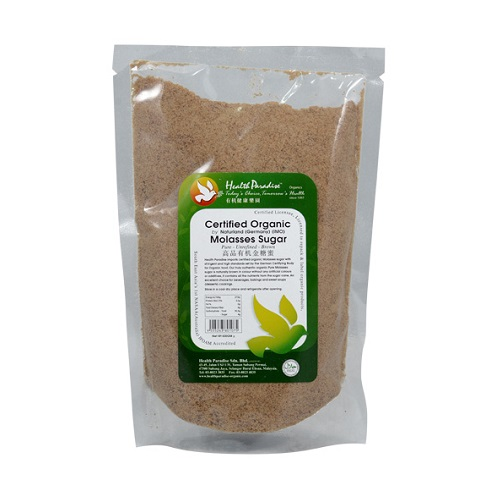 HP ORGANIC MOLASSES SUGAR 500GM