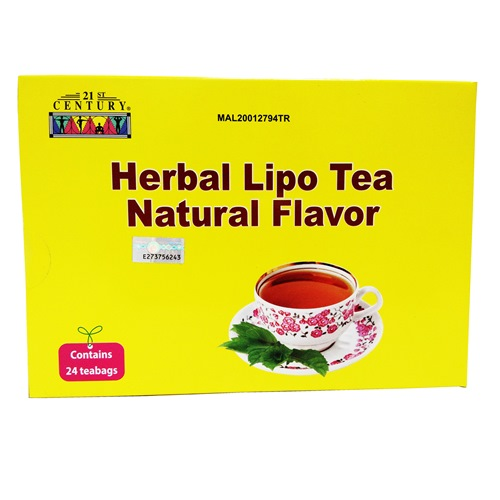 21ST CENTURY HERBAL LIPO TEA 草本燃脂茶