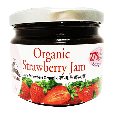 ALCE NERO ORGANIC STRAWBERRY JAM 有机草莓果酱