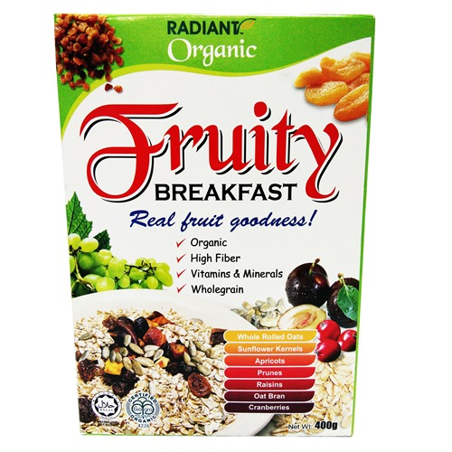RADIANT ORGANIC FRUITY BREAKFAST 有机水果早餐