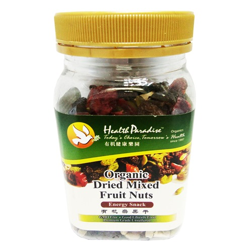 HEALTH PARADISE ORGANIC DRIED MIXED FRUIT NUTS 有机健康乐园有机杂果干