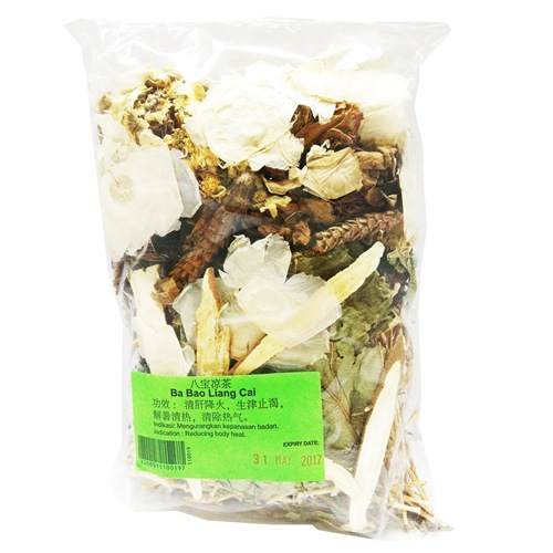 BA BAO HERBAL TEA 八宝凉茶