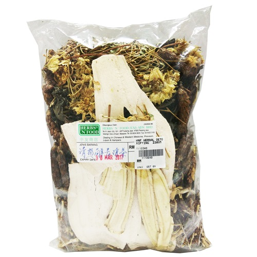 HERBAL DETOXIFYING HERBAL TEA 清热解毒凉茶