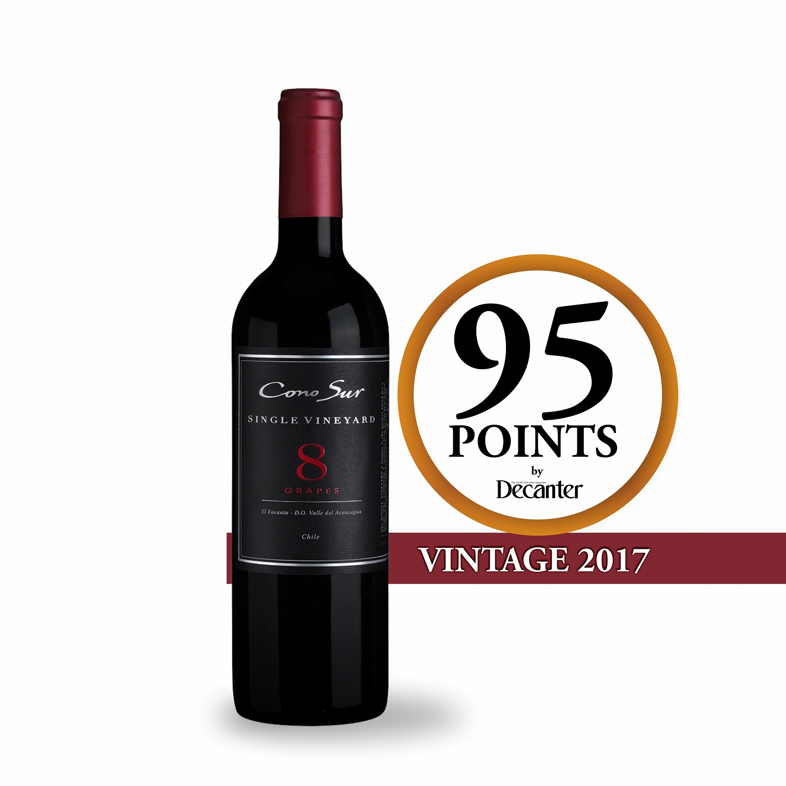 CONO SUR SINGLE VINEYARD 8 GRAPES 750ML