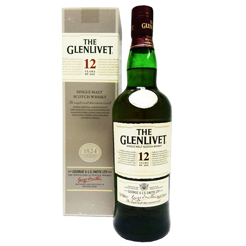 GLENLIVET 12Y SINGLE MALT SCOTCH WHISKY 700ML