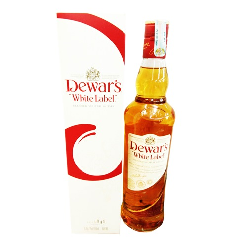 DEWAR'S, WHITE LABEL WHISKY