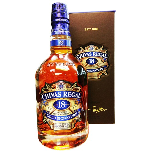CHIVAS REGAL, 18YO GOLD SIGNATURE WHISKY