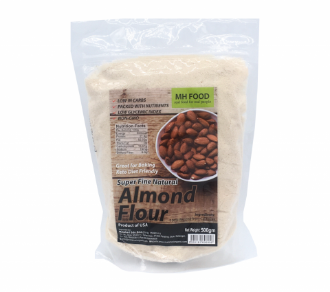 MATAHARI SUPER FINE NATURAL ALMOND FLOUR 500G