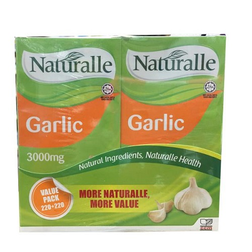 NATURALLE GARLIC 3000MG 220S+220S