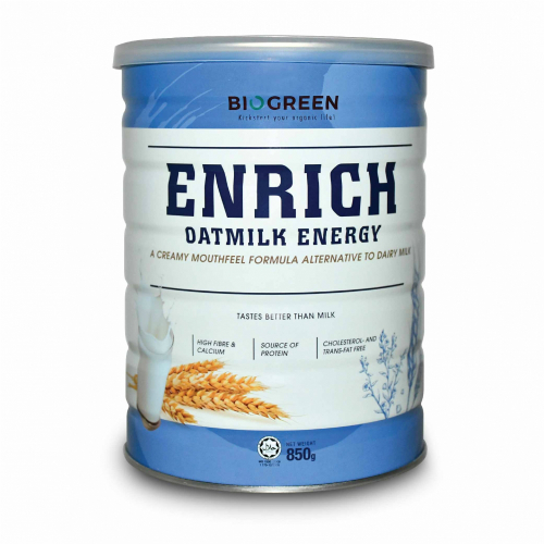 BIOGREEN ENRICH OATMILK 850GM