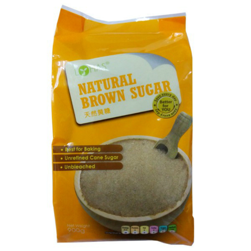 LOHAS NATURAL BROWN SUGAR 900GM