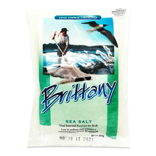 RADIANT BRITTANY SEA SALT FINE 200GM