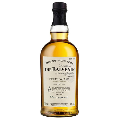 THE BALVENIE 17YO PEATED CASK 700ML