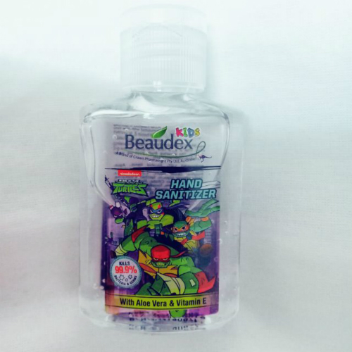 BEAUDEX KIDS HAND SANITIZER  50ML