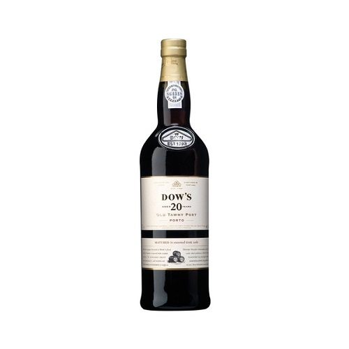 DOW'S 20 YEARS OLD TAWNY PORT 750ML
