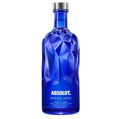 ABSOLUT VODKA ORIGINAL FACET 750ML