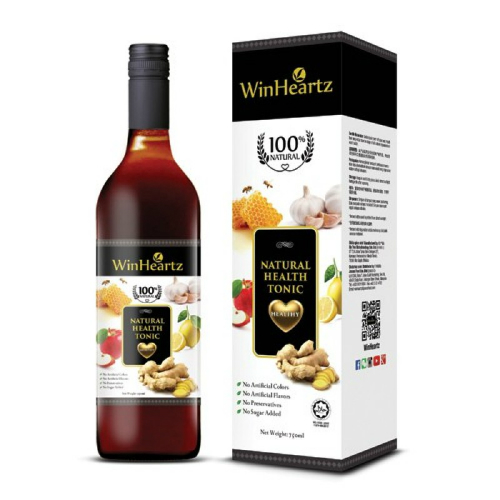NATURAL WINHEARTZ NAT HEALTH TONIC 750ML