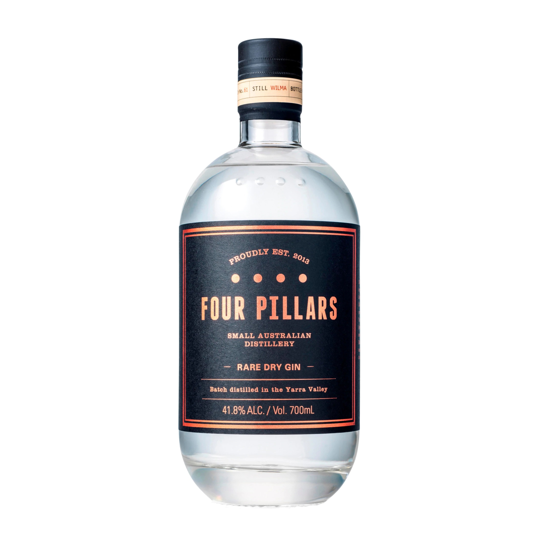 FOUR PILLARS RARE DRY GIN 700ML AWARD WINNING