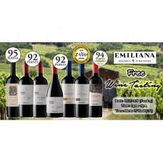 Emiliana Wine Tasting (FREE!)