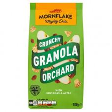 MORNFLAKE CRUNCHY GRANOLA (ORCHARD) 500G