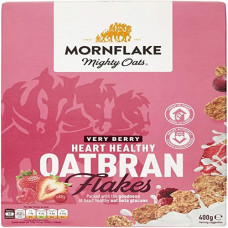MORNFLAKE OATBRAN FLAKES (VERY BERRY) 400G