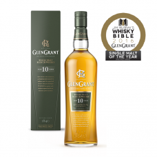 GLENGRANT 10YO WHISKY (JIM MURRAY BEST SINGLE MALT WHISKY 'MULTIPLE CASKS' 2016)