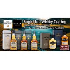 Old Pulteney & Balblair Single Malt Whisky Tasting @ Herbs N Food Subang SS15