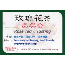 Rose Tea for Tasting