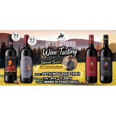 FREE San Felice Wine Tasting